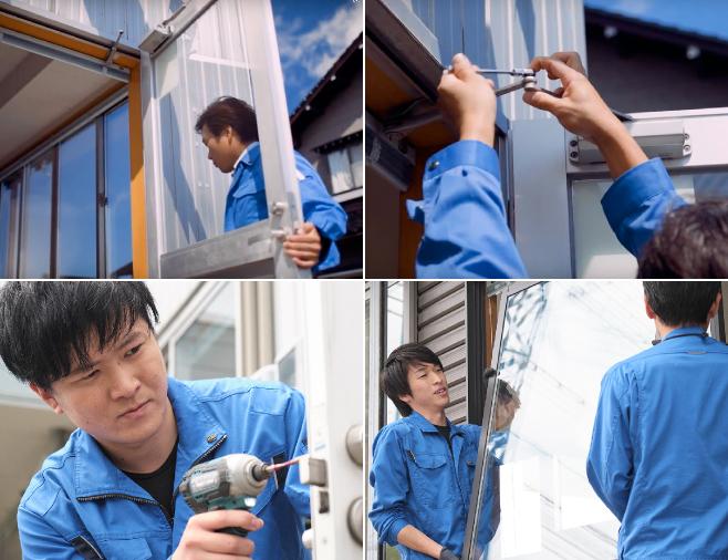 ドア・窓の取替修理
