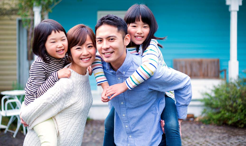 家族の幸せを守る